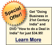 Doing Business in 21st Century India Book Plus DVD